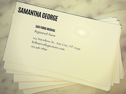 1000 Cards on Semi- Glossy paper (1 Sid)