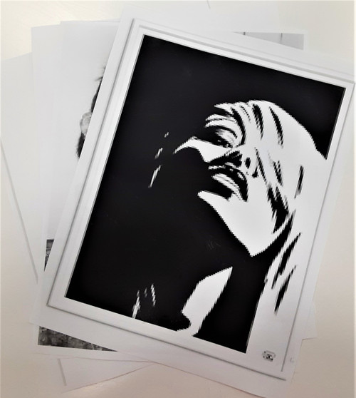 8.5x11 on 3 Hole Punch Paper  (1 Sided)