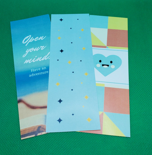 5000 6x2 Color Bookmarks (2 sided)