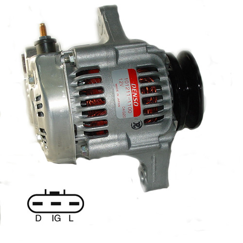 453F Bobcat Skid Steer Loader Denso Alternator 021080-0810