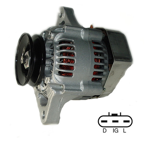 328 Bobcat Excavator Denso Alternator 021080-0810