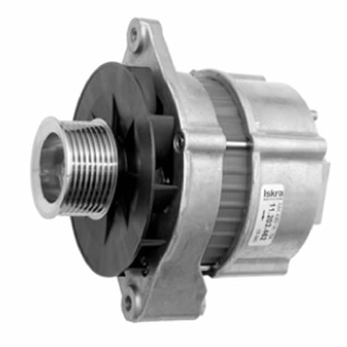 Case Letrika 12V 75Amp Alternator W 8 Groove Pulley MG482