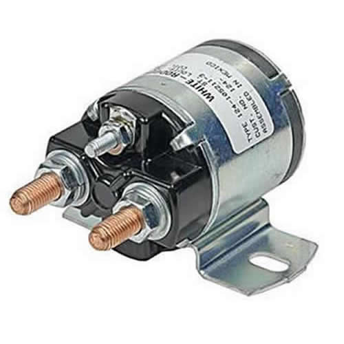 Auxiliary Solenoid 12v 3 Terminal  Continuous 124-906