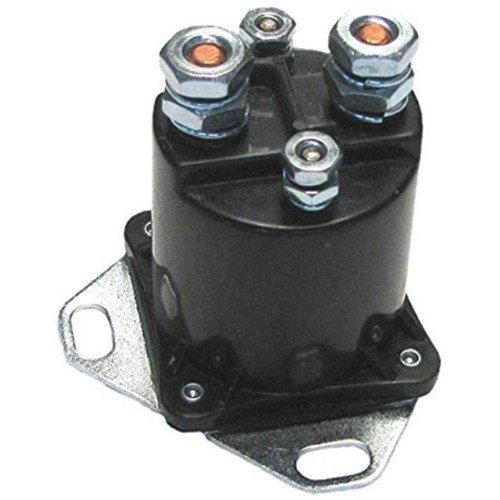 Pollak Auxiliary Starter Solenoid 12v 4 Terminal Continuous 52-327
