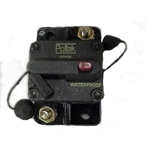 Pollak 80 Amp Type III Circuit Breaker Manual Reset Surface Mount 54-873PL