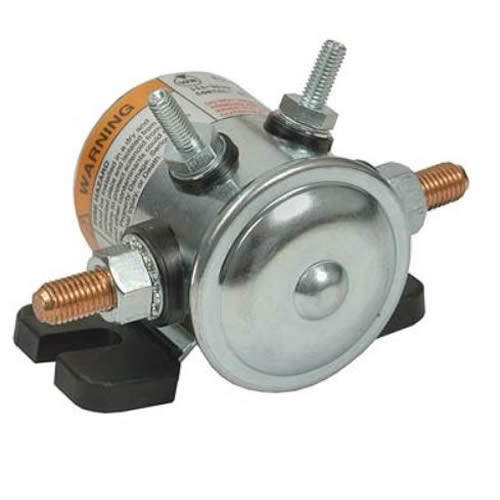 Pollak Auxiliary Starter Solenoid 24v 4 Terminal Continuous 52-324