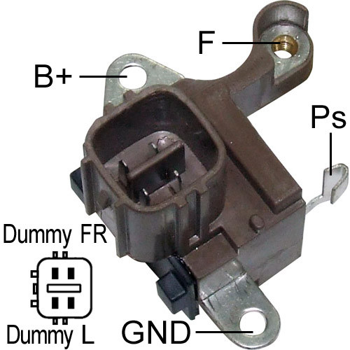Denso Replacement regulator Fits  11062, 11387, IN6308