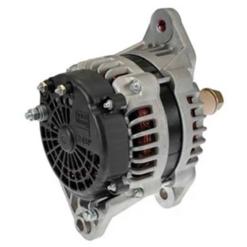 24 SI 12v 160 Amp J180 Mount Delco Remy Alternator 8600310
