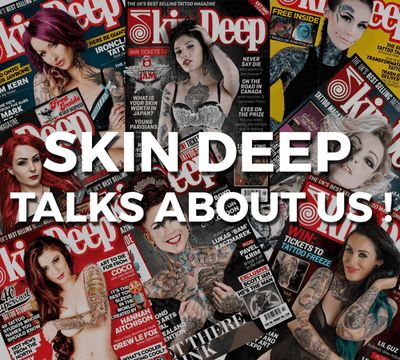 Noble causes and the tattoo industry in Skin Deep!