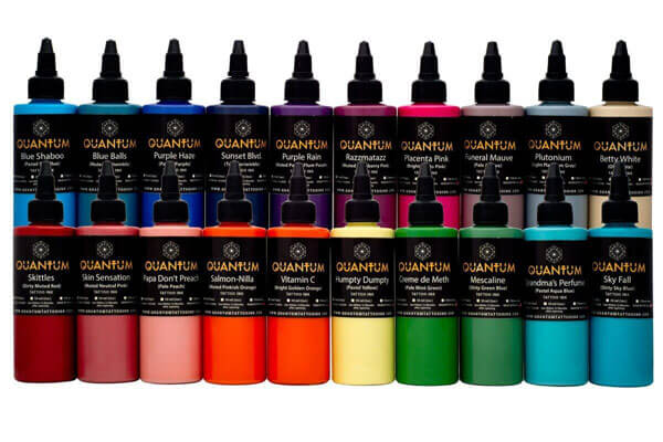 Tattoo Ink Sets-PASTEL TATTOO INK SET 20 COLORS