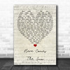 Here Comes The Sun The Beatles Script Heart Quote Song Lyric Print