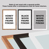 Any Song Lyrics Custom Black Script Wall Art Personalized Lyrics Music Wall Art Print