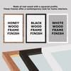 Any Song Lyrics Custom Black White Guitar Wall Art Personalized Lyrics Music Wall Art Print