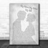 Dean Martin My Woman, My Woman, My Wife Man Lady Bride Groom Wedding Grey Song Lyric Print