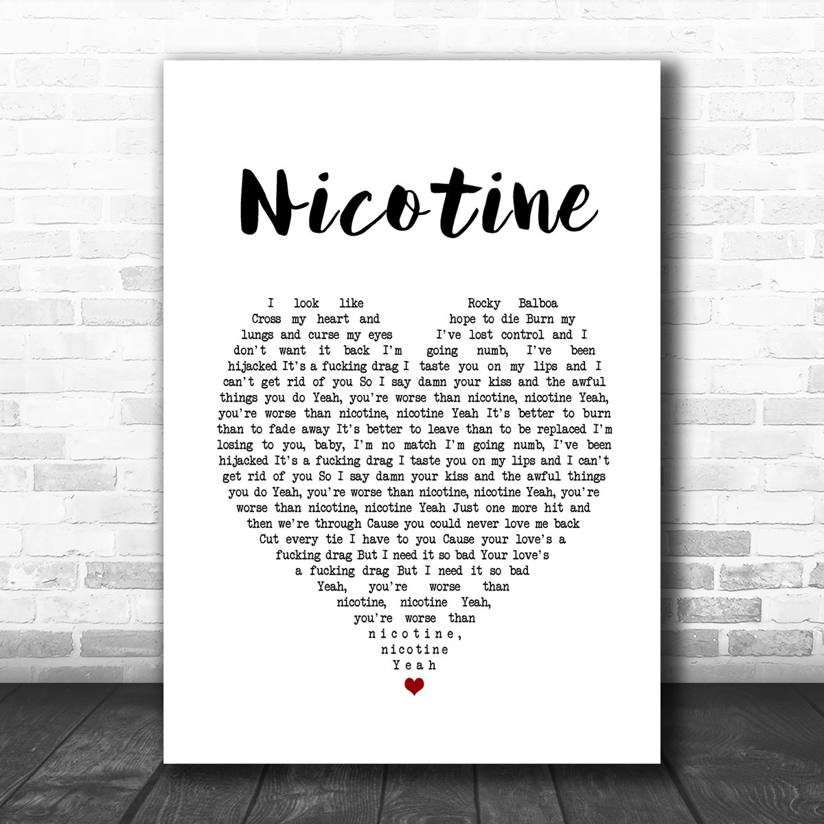 Nicotine Panic At The Disco