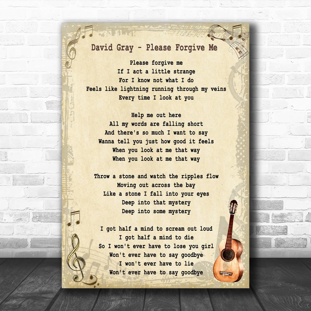 Song Lyric Designs