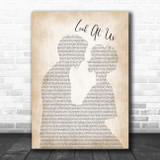 Vince Gill Look At Us Man Lady Bride Groom Wedding Song Lyric Poster Print