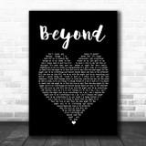 Leon Bridges Beyond Black Heart Song Lyric Music Poster Print