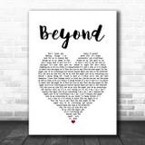 Leon Bridges Beyond White Heart Song Lyric Music Poster Print