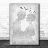 Jason Aldean You Make It Easy Man Lady Bride Groom Wedding Grey Song Lyric Print