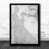 Eminem Space Bound Grey Man Lady Dancing Song Lyric Quote Music Print