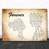 Ben Harper Forever Man Lady Couple Song Lyric Quote Music Print