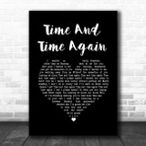 Counting Crows Time And Time Again Black Heart Song Lyric Wall Art Print