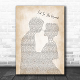 Big & Rich Lost In This Moment Man Lady Bride Groom Wedding Song Lyric Wall Art Print