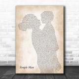Lynyrd Skynyrd Simple Man Mother & Child Song Lyric Print