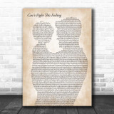 REO Speedwagon Can't Fight This Feeling Father & Child Song Lyric Print