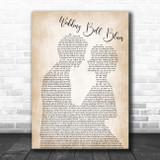 The 5th Dimension Wedding Bell Blues Man Lady Bride Groom Wedding Song Lyric Print