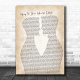 Biffy Clyro Many Of Horror (When We Collide) Two Men Gay Couple Wedding Song Lyric Music Art Print