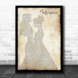JP Cooper Masterpiece Lesbian Couple Two Ladies Dancing Song Lyric Music Art Print