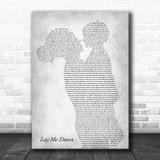 Sam Smith Lay Me Down Mother & Child Grey Song Lyric Music Art Print