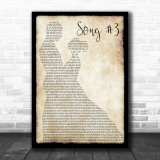 Stone Sour Song 3 Man Lady Dancing Song Lyric Music Wall Art Print