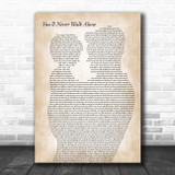 Gerry And The Pacemakers You'll Never Walk Alone Father & Child Song Lyric Art Print