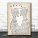Sam Smith Not In That Way Two Men Gay Couple Wedding Song Lyric Art Print