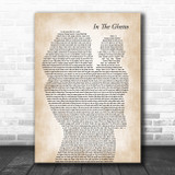 Elvis Presley In The Ghetto Mother & Baby Song Lyric Art Print