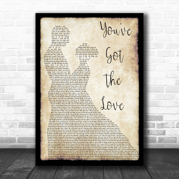 Florence + The Machine You've Got The Love Man Lady Dancing Song Lyric Poster Print