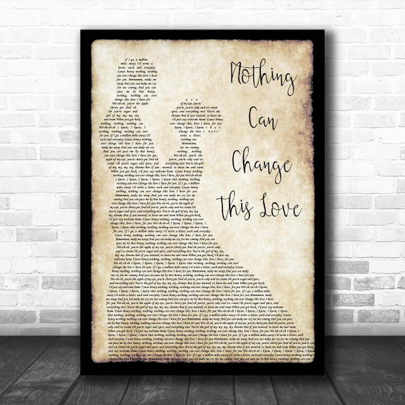 Sam Cooke Nothing Can Change This Love Man Lady Dancing Song Lyric Print