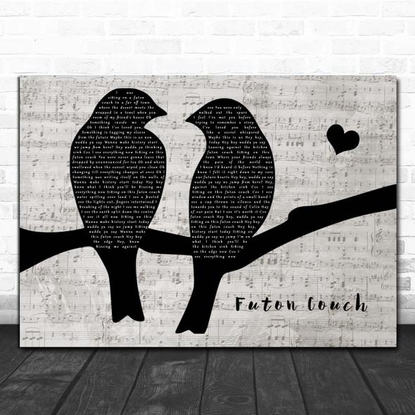 Missy Higgins Futon Couch Lovebirds Music Script Song Lyric Print