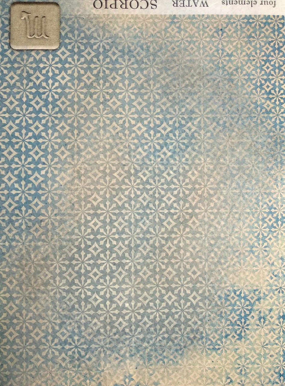 Scrapbooking Sheet Craft Vintage  Royal Ornaments Rice Paper for Decoupage