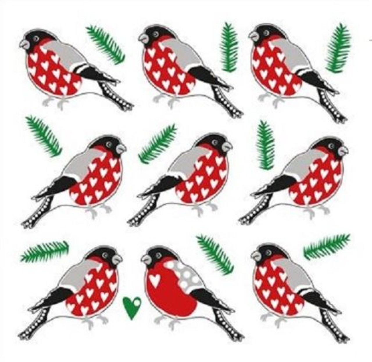 SMALL BIRDS for Decoupage Craft 4 x Vintage PAPER Table NAPKINS Party