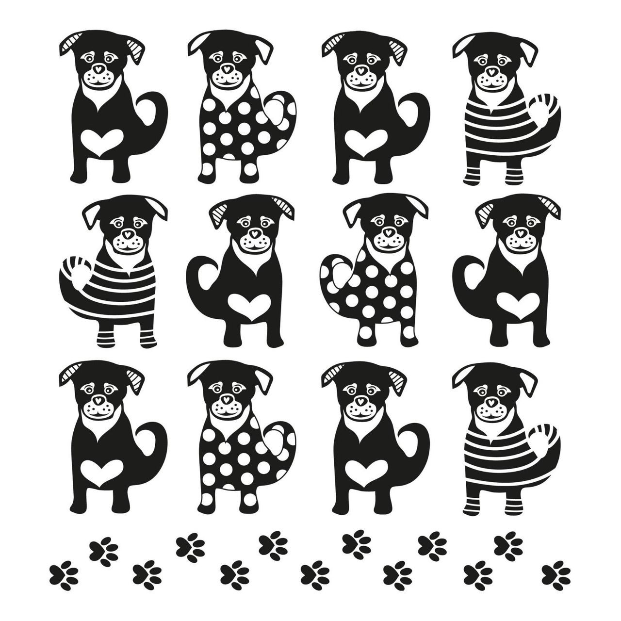 4 Lunch Paper Napkins for Decoupage Party Table Craft  Twelve Dogs