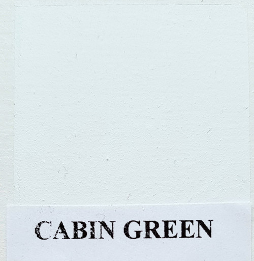 Chalk  Paint Shabby Colors are chalky to touch with excellent washing and abrasion resistance -   200ml CABIN GREEN