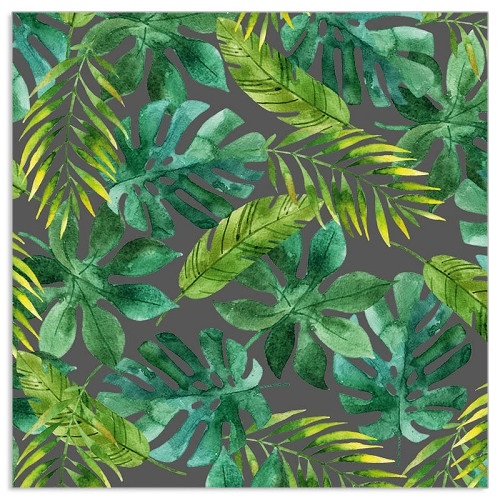 4  Vintage Paper Napkins , Lunch, Table , for Decoupage  -  Tropic Jungle
