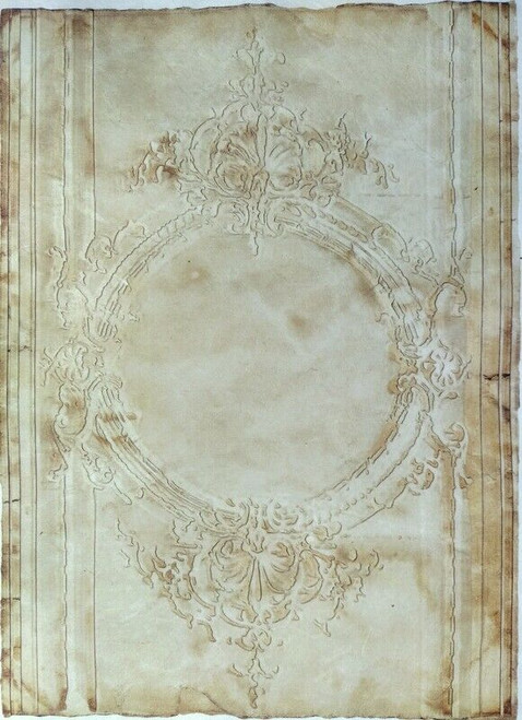 Rice Paper for Decoupage  Craft Vintage, Sheet A4  - Alice Frames 1