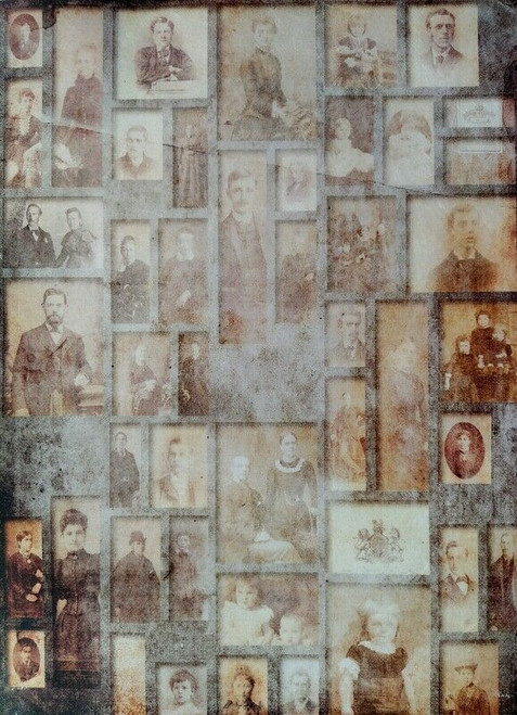 Rice Paper for Decoupage Craft Vintage, Sheet A4 - Photos, Old Pictures