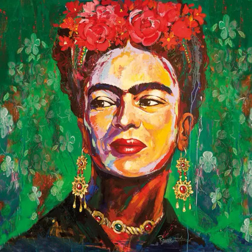 4 Lunch Paper Napkins for Decoupage Party Table Craft Vintage, Salma, Frida Kahlo