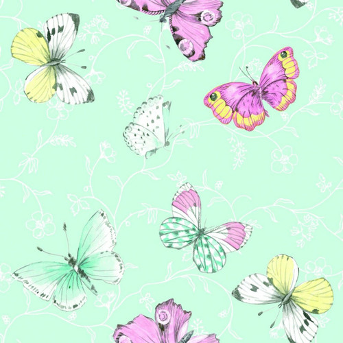 4  Vintage Paper Napkins , Lunch, Table , for Decoupage   -  Butterflies Sweet